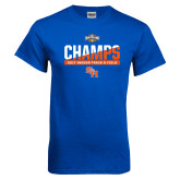 Royal Blue T Shirt-Southland Conference Indoor Track and Field Champions