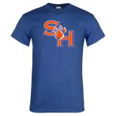 Royal T Shirt-SH Paw Official Logo