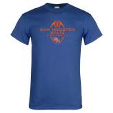 Royal T Shirt-Tall Football Design