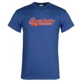 Royal T Shirt-Softball Lady Design