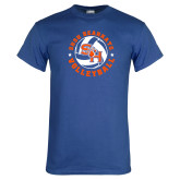 Royal T Shirt-Volleyball Stars Design