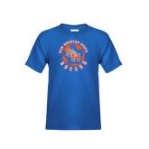 Youth Royal Blue T Shirt-Soccer Circle