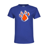 Youth Royal T Shirt-Paw