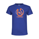 Youth Royal T Shirt-Tennis Ball