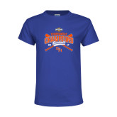 Youth Royal T Shirt-2017 Southland Conference Baseball Champions