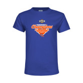 Youth Royal T Shirt-2017 Southland Conference Baseball Champions