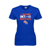 Ladies Royal T Shirt-Tennis Game Set Match
