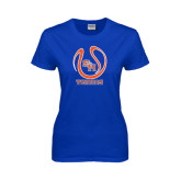 Ladies Royal T Shirt-Tennis Ball