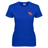 Ladies Royal T Shirt-SH Paw Official Logo
