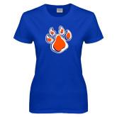 Ladies Royal T Shirt-Paw