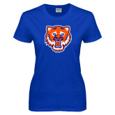 Ladies Royal T Shirt-Bearkat Head