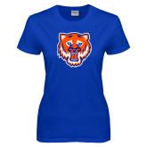 Ladies Royal T Shirt-Bearkat Head