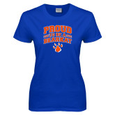 Ladies Royal T Shirt-Proud to be a Bearkat