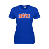 Ladies Royal T Shirt-Arched SHSU