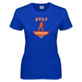 Ladies Royal T Shirt-Golf Stacked
