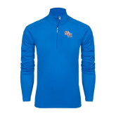 Syntrel Royal Blue Interlock 1/4 Zip-SH Paw Official Logo