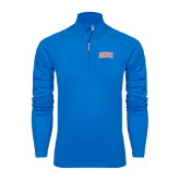 Syntrel Royal Blue Interlock 1/4 Zip-Arched SHSU