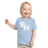 Toddler Light Blue T Shirt-SH Paw Official Logo