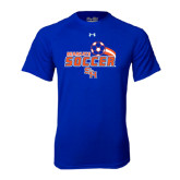Under Armour Royal Tech Tee-Soccer Swoosh
