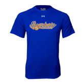 Under Armour Royal Tech Tee-Softball Lady Design