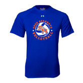 Under Armour Royal Tech Tee-Volleyball Stars Design