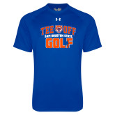 Under Armour Royal Tech Tee-Golf Tee Off