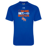 Under Armour Royal Tech Tee-Tennis Game Set Match