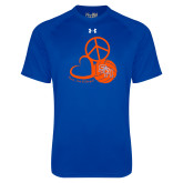 Under Armour Royal Tech Tee-Volleyball Design