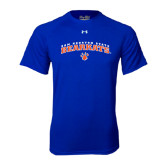 Under Armour Royal Tech Tee-Arched Sam Houston State Bearkats w/Paw