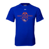 Under Armour Royal Tech Tee-Tall Football Design