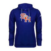 Adidas Climawarm Royal Team Issue Hoodie-SH Paw Official Logo
