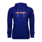 Adidas Climawarm Royal Team Issue Hoodie-Sam Houston Bearkats