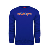 Royal Fleece Crew-Sam Houston Bearkats