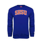 Royal Fleece Crew-Arched SHSU
