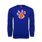 Royal Fleece Crew-Paw