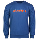 Royal Fleece Crew-Sam Houston Bearkats