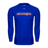 Under Armour Royal Long Sleeve Tech Tee-Sam Houston Bearkats