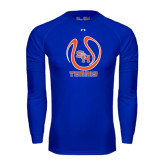 Under Armour Royal Long Sleeve Tech Tee-Tennis Ball