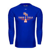 Under Armour Royal Long Sleeve Tech Tee-Track and Field Design