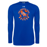 Under Armour Royal Long Sleeve Tech Tee-Soccer Circle