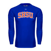 Under Armour Royal Long Sleeve Tech Tee-Arched SHSU