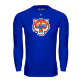 Under Armour Royal Long Sleeve Tech Tee-Bearkat Head