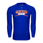 Under Armour Royal Long Sleeve Tech Tee-Baseball Bats