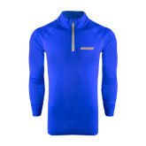 Under Armour Royal Tech 1/4 Zip Performance Shirt-Bearkats