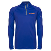 Under Armour Royal Tech 1/4 Zip Performance Shirt-Sam Houston Bearkats