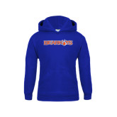 Youth Royal Fleece Hood-Bearkats