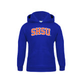 Youth Royal Fleece Hood-Arched SHSU