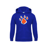 Youth Royal Fleece Hood-Paw
