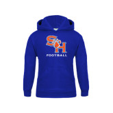 Youth Royal Fleece Hood-Football