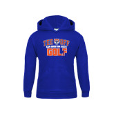 Youth Royal Fleece Hood-Golf Tee Off